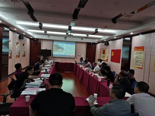 公司召开江西省鹰潭市S206贵溪虹桥至黄思段公路改建工程可行性研究报告的评估会